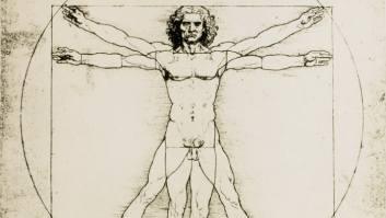 Da Vinci's Vitruvian man drawing