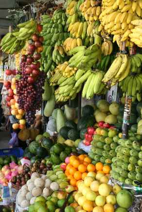 Fruits are found in abundance in the Philippines. Are they contributing to obesity or is it the excess of processed foods and sweet drinks?
