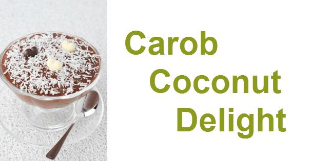 carob coconut delight