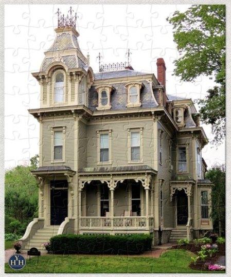 Fabulous Second Empire Puzzle Historic House