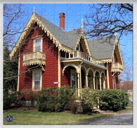 A Gothic Revival Gem Puzzle Historic House