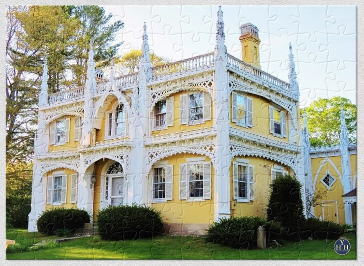 The Wedding Cake House Puzzle Historic House