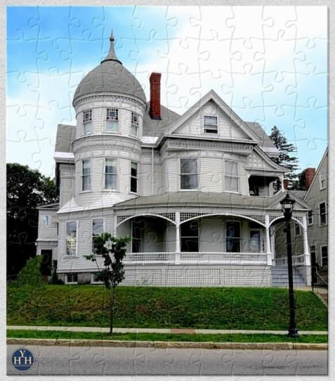 Queen Anne Garcelon Puzzle Historic House