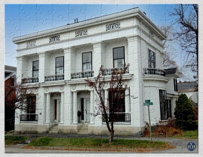 Gorgeous Greek Revival Puzzle Historic House