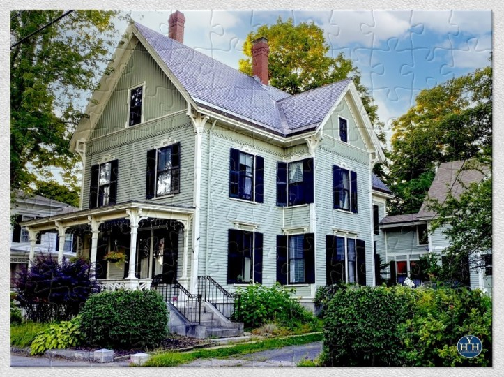 Blended Victorian Styles Puzzle Historic House