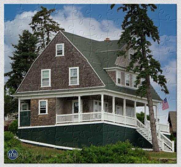 Shingle Style Cottage Historic House Puzzle