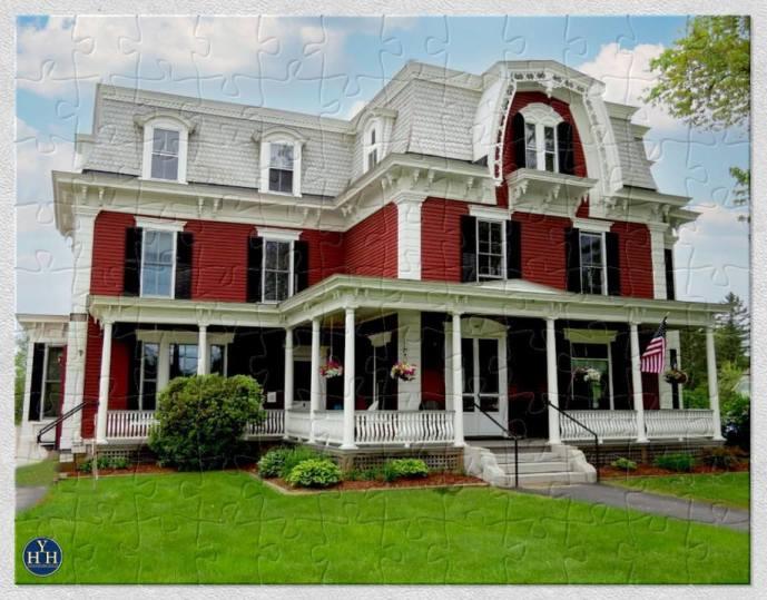 New Hampshire Second Empire Historic House Puzzle