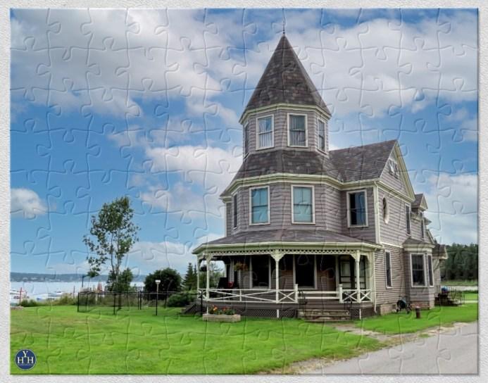 Queen Anne In Jonesport Historic House Puzzle