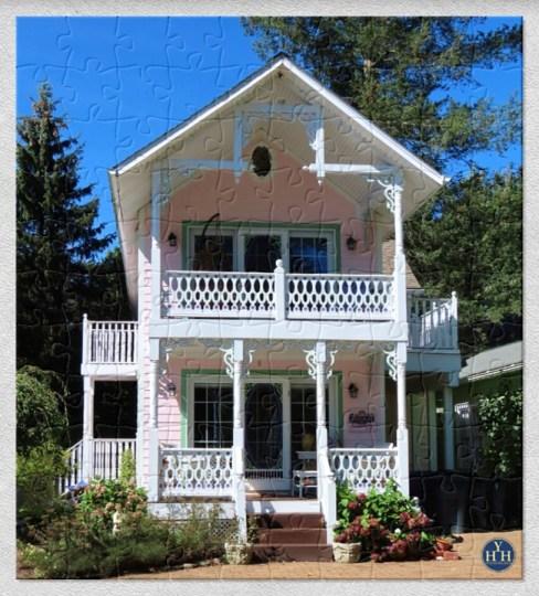 Chautauqua Gingerbread Cottage Historic House Puzzle