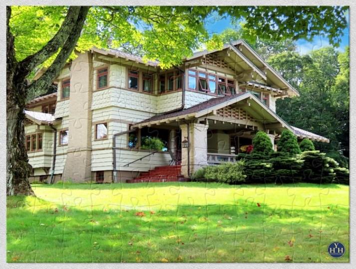 Upland Cottage Historic House Puzzle
