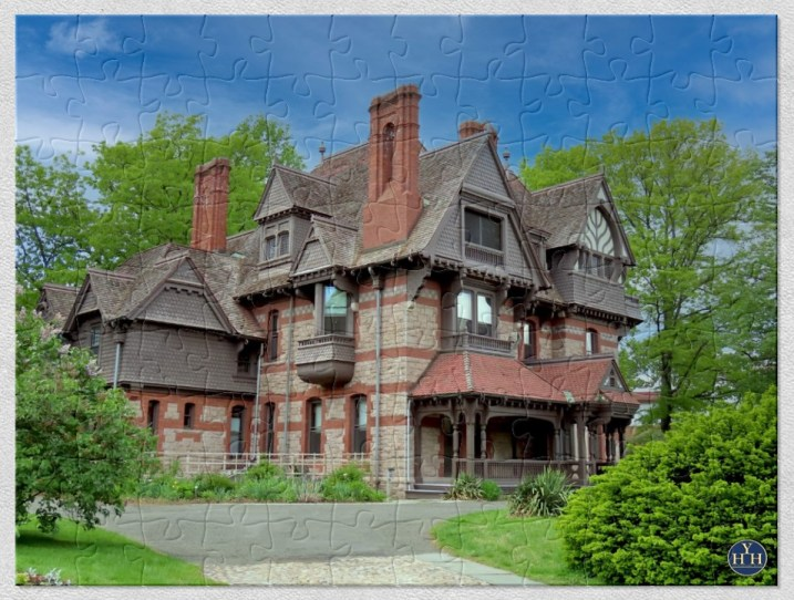 Queen Anne in Hartford Historic House Puzzle