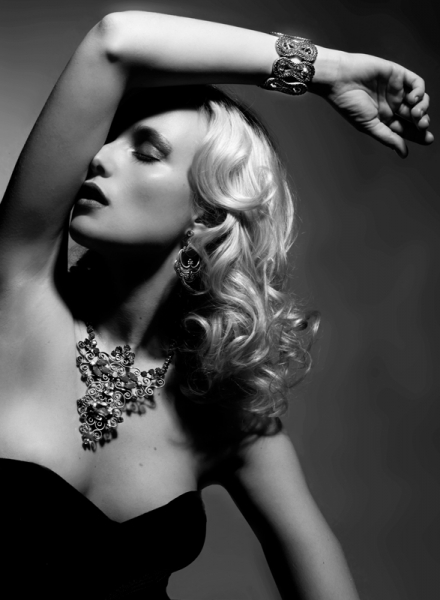 Old Hollywood Glamour  Boudoir Photography and Vintage Portraits in New York City