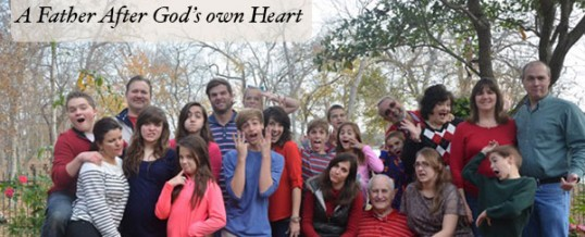 How to Be a Father after God's own Heart