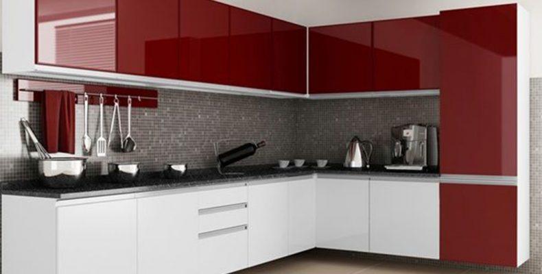 Cocinas Integrales Rojas Modernas Novocom Top