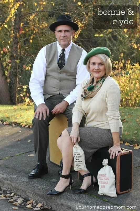 Bonnie And Clyde Costume : bonnie, clyde, costume, Bonnie, Clyde, Couples, Costume