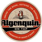 Algonquin on Tap Books & Books Logo