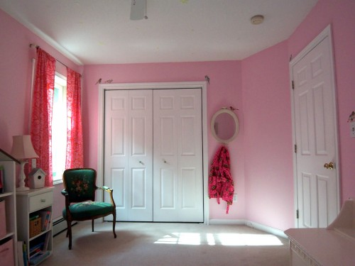 A Non Princess Pink Room