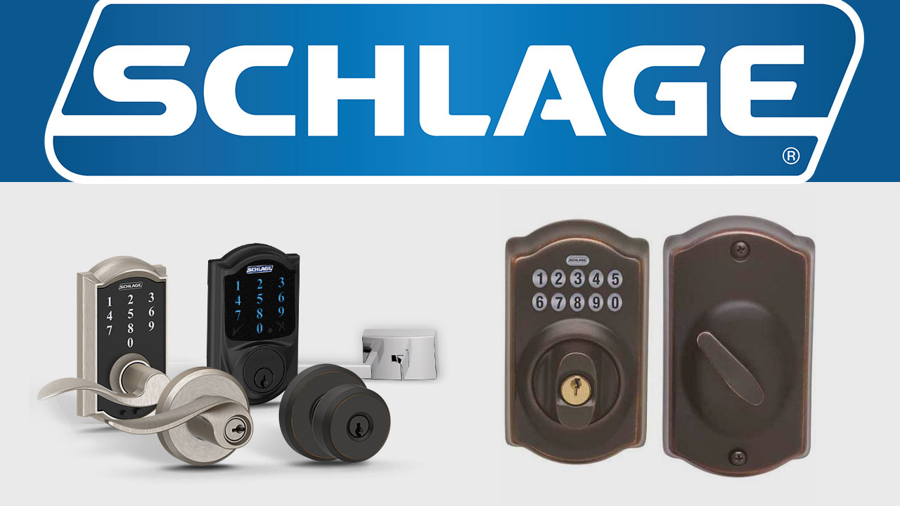 schlage also introduced their securekey technology which resembles the smartkey of weiser as we will talk about  [ 1280 x 720 Pixel ]