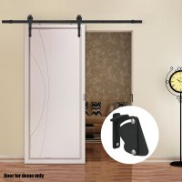 2M 4M Sliding Barn Door Hardware Track Set Home Office