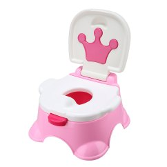 3 In 1 Potty Chair Gym Malaysia Baby Fun Training Toilet Kids Child Music Pink