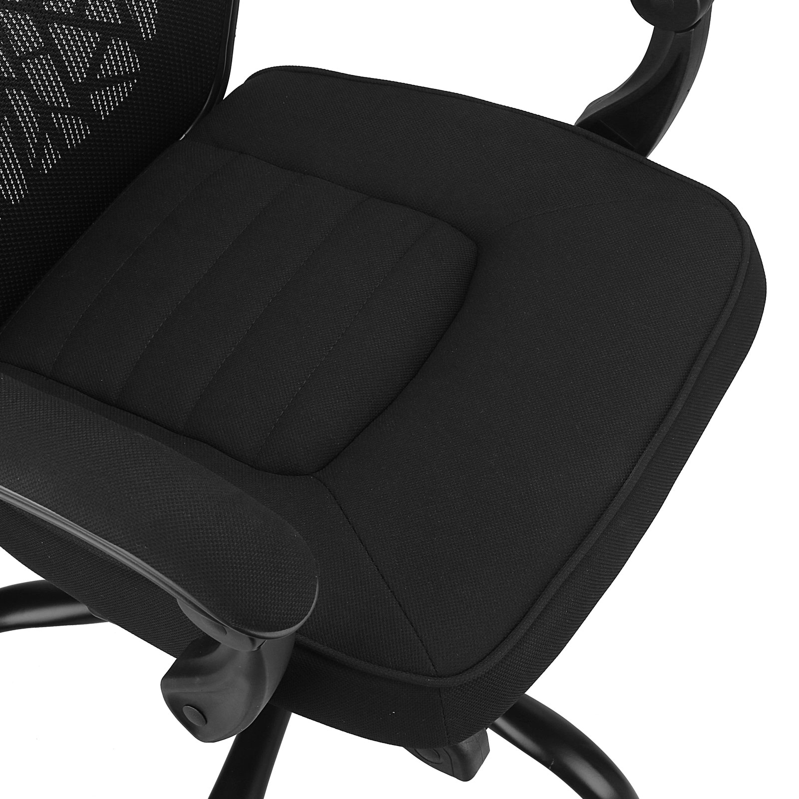 Office Chair Footrest Executive Reclining Office Chair Fabric Relax Mesh High