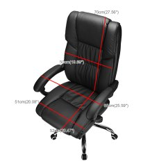 Relax Your Back Chair Legs Home Depot Executive Office Recline High Pu Leather