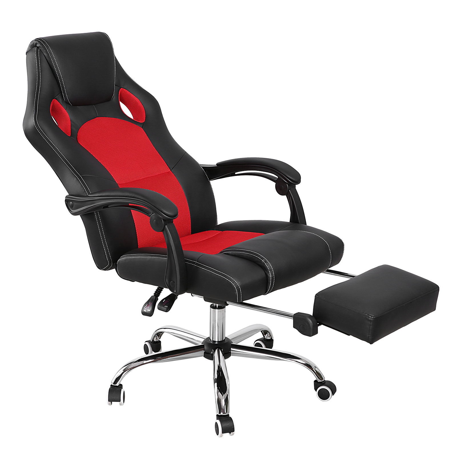 reclining gaming chair bed racing office high back car style executive