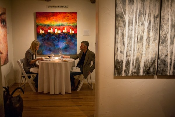 Intimate Valentine Dinner Planned Contemporary Art Yourhub