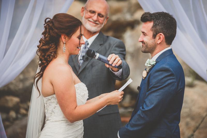 living desert wedding