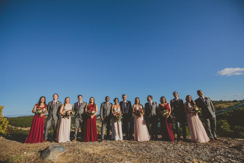 temecula wedding photography bridal party