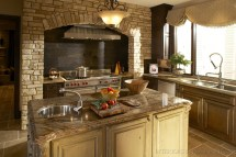 Stone Kitchen Hood Ideas