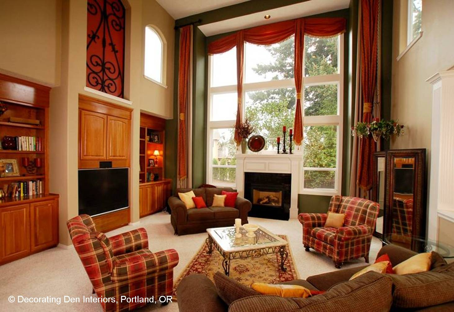 Focus on the Fireplace  Devine Decorating Results for Your Interior