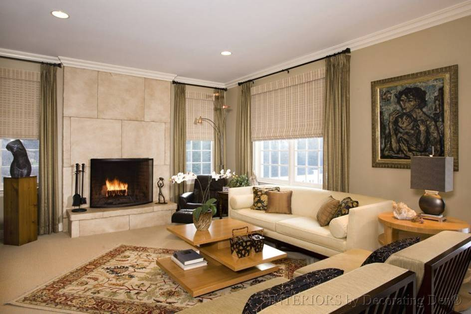 Focus on the Fireplace  Devine Decorating Results for