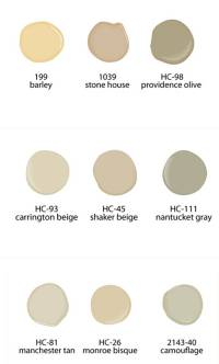 best neutral paint colors 2017 - Grasscloth Wallpaper