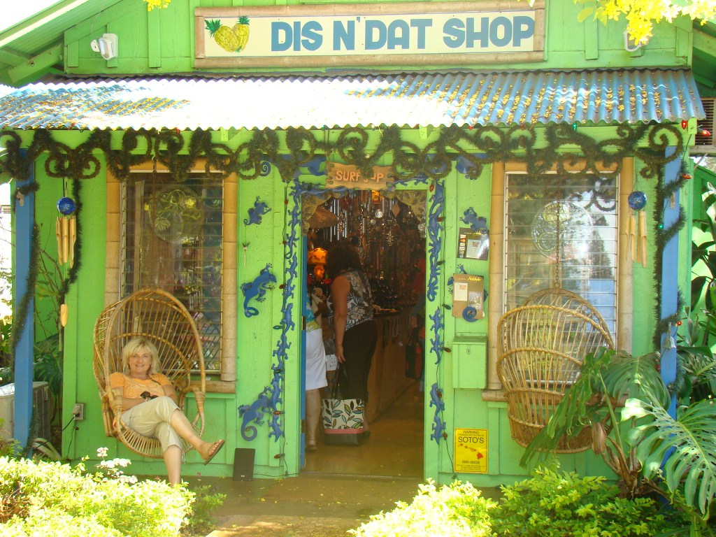 Some of my favorite places to go shopping in Hawai'i