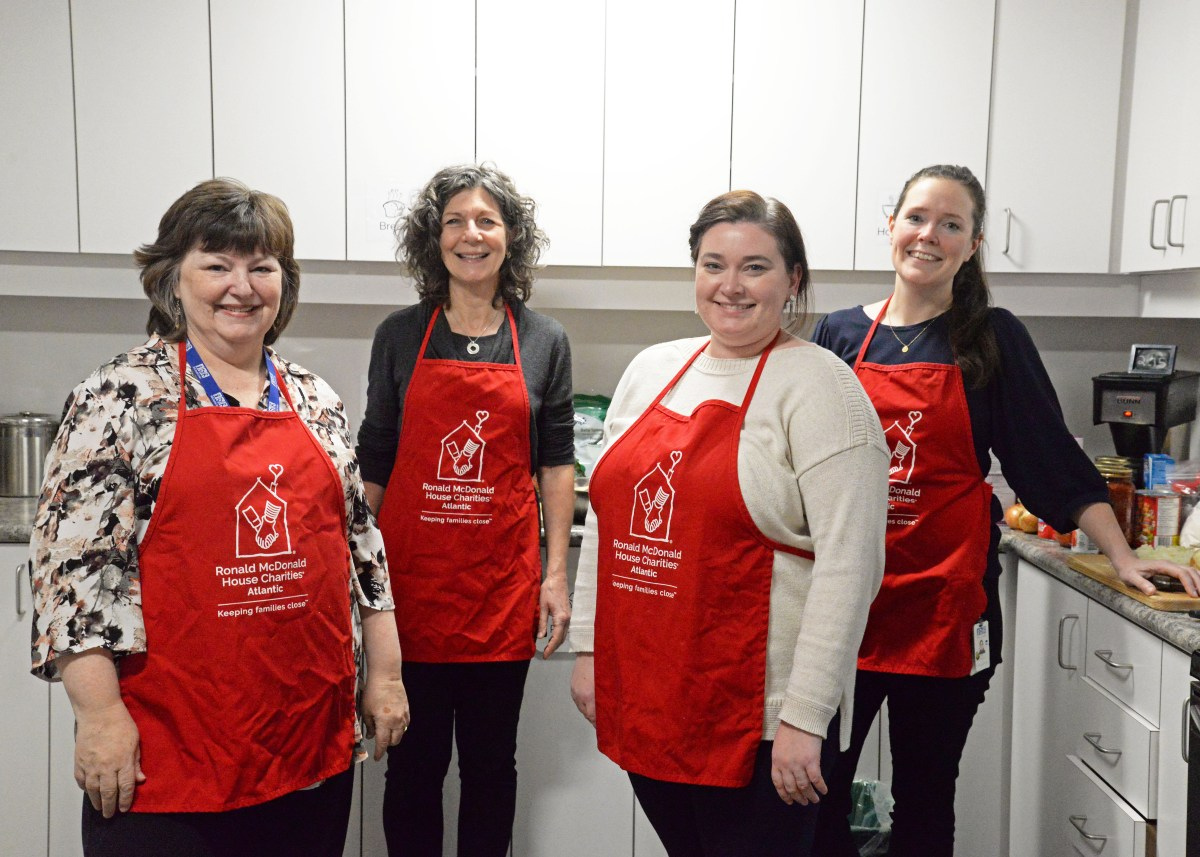 """Just like home."" IWK dietitians volunteer in Ronald McDonald Family Room"