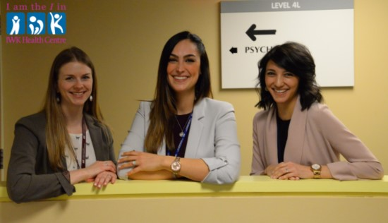 I am the I in IWK -Psychology Residents-Kristen Bailey, Jenna Thomas and Stephanie Ryan