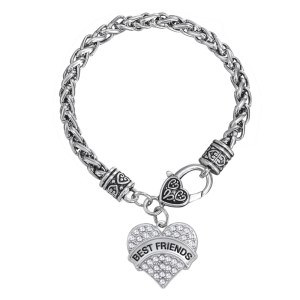 bracelet-ladies-best-friend-silver-clear-crystals-heart