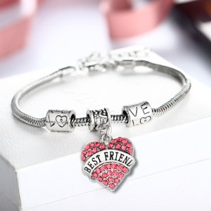 bracelet-ladies-best-friend-silver-pink-crystals-heart