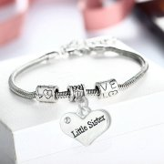 bracelet-ladies-little-sister-heart-diamante-charm