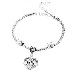 bracelet-ladies-silver-aunt-heart-crystals