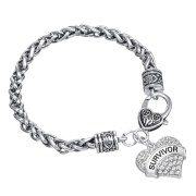bracelet-ladies-silver-survivor-clear-crystals-heart