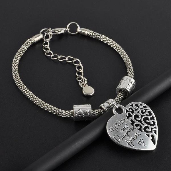 bracelet-mother-daughter-forever-heart-pic