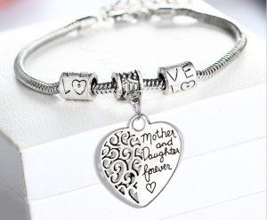 bracelet-mother-daughter-forever-heart
