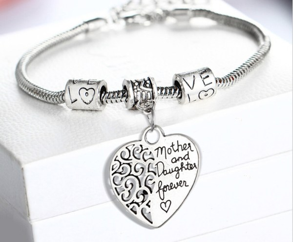 bracelet-mother-daughter-forever-heart