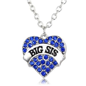 necklace-ladies-big-sis-blue-crystals-heart