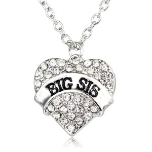 necklace-ladies-big-sis-clear-crystals-heart