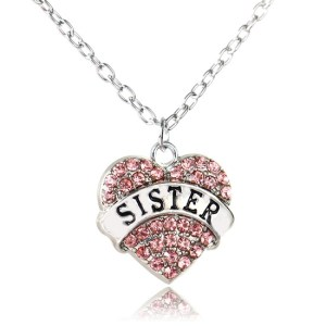 necklace-ladies-sister-pink-crystals-heart