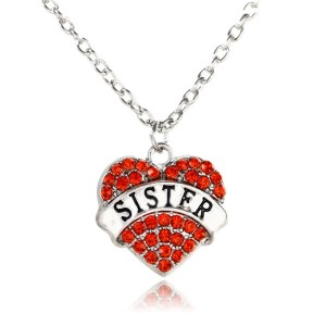 necklace-ladies-sister-red-crystals-heart