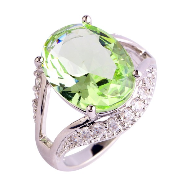 ring-ladies-sterling-silver-plated-oval-cut-green-amethyst-white-topaz